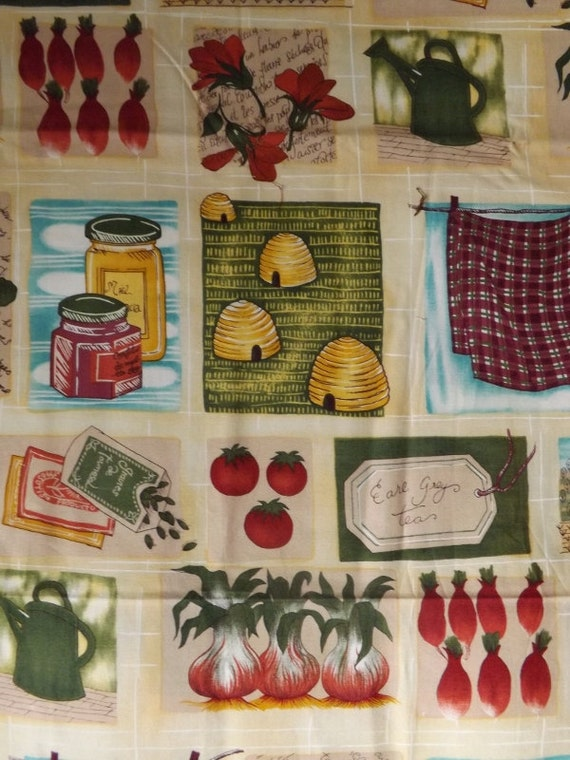 Alexander Henry Tea and Honey cotton fabric BTY