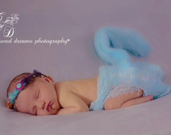 Photography Cheesecloth Wraps ..Set of Six.... ..Baby Cheesecloth Photo Wraps...Newborn Wraps