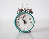 Vintage mechanical alarm clock SEVANI - working condition