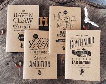 Fandom Jots Pocket Notebooks: Witchcraft and Wizardry