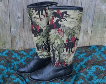 Vintage Seychelles Ridding Boots// 6// Womens