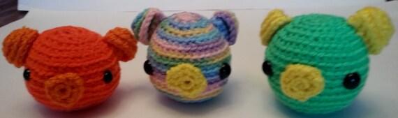 Amigurumi Yarn Eyes : Amigurumi Pig Crochet Yarn Stuffed Toy Farm Animal Black Eyes