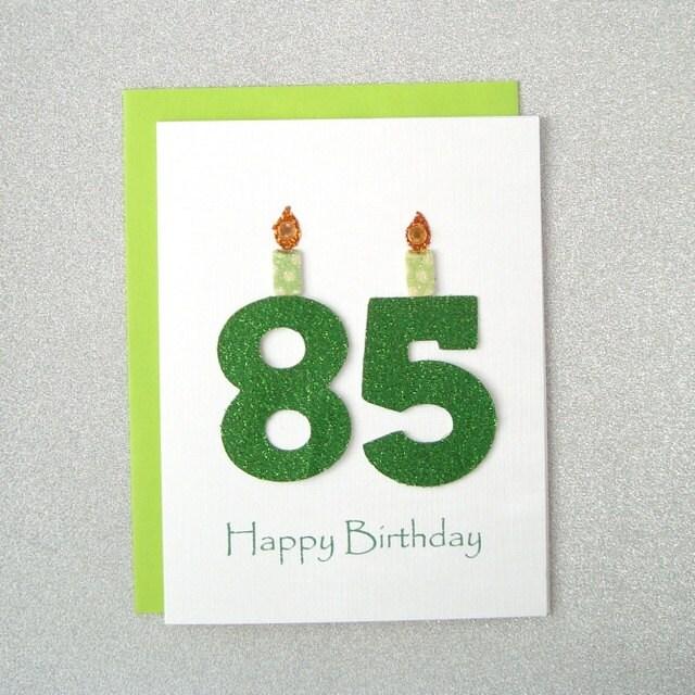 85th Birthday Card 85th Milestone Birthday Card 85th – 85th Birthday Cards
