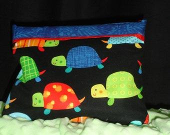 Turtle Boo Boo Snap Bag