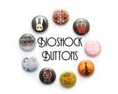 """1"""" Bioshock Inspired Button Set"""