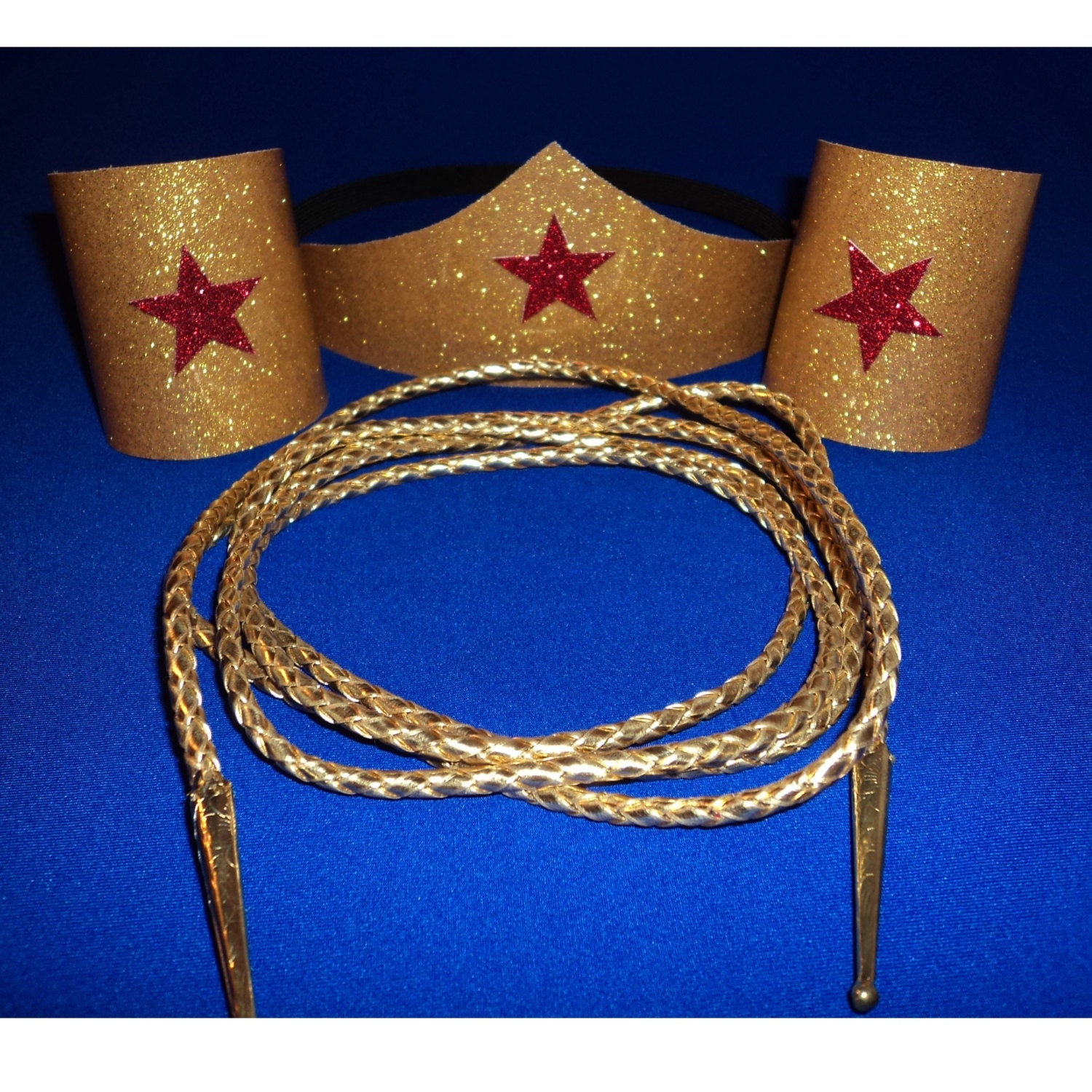 Classic wonder woman costume accessories set tiara headband zoom pronofoot35fo Gallery