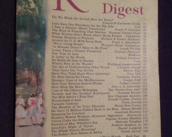 May 1956 Readers Digest