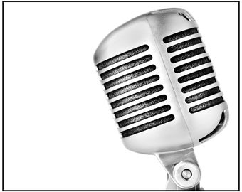 Shure 55SH Vintage Microphone Photograph