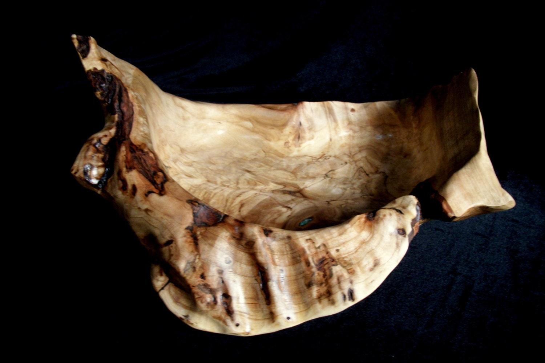 Maple Burl Bowls Maple Wood Burl Bowl With