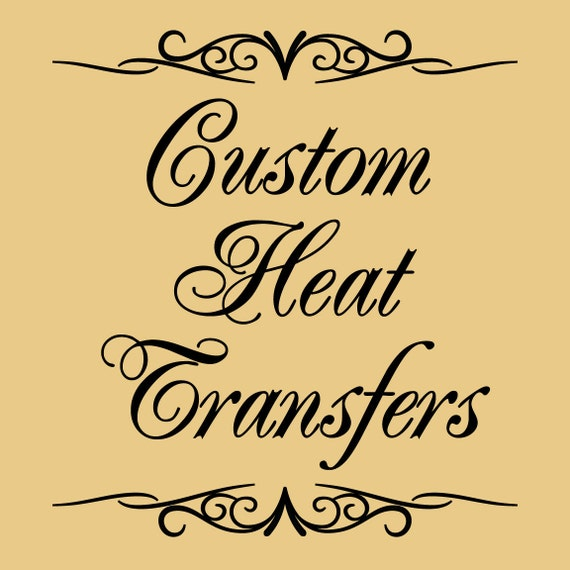 Custom Heat Transfers For T Shirts Tote Bags By