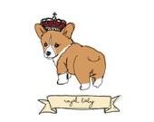 Royal Baby Corgi 11oz Mug