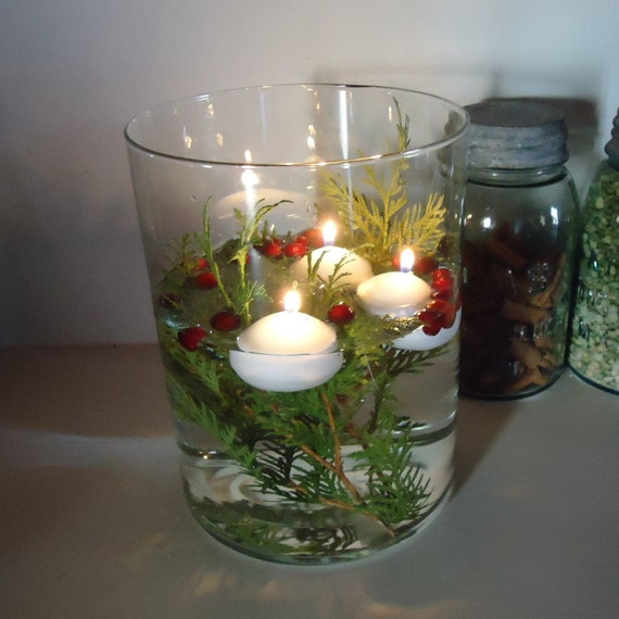 Floating Candles 10 Water Candles Romantic Easy Centerpiece