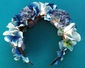 Floral Crown, Flower Headband, Wedding Flowers, wedding hair Accessory