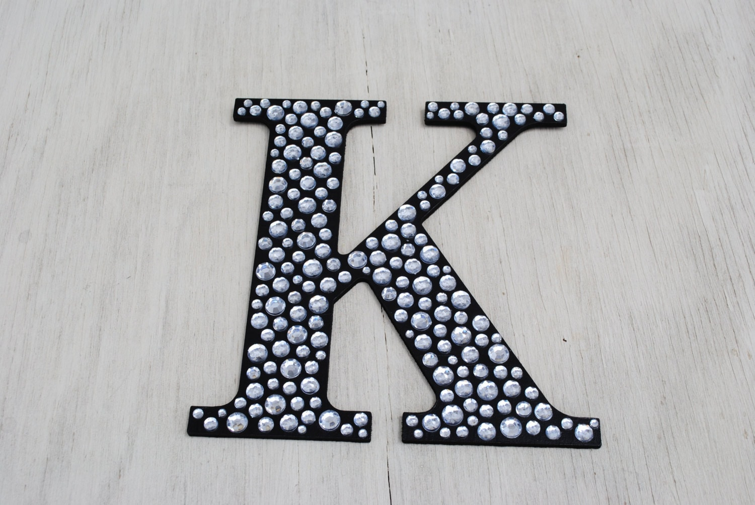9 sparkle black bling decorative wall letters for Black wall letters