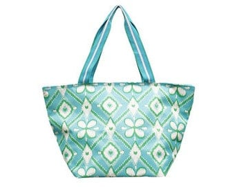 Personalized All for Color Large Everyday Tote: Ikat Bliss TCMC6612