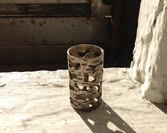 Nickel Dread Birch Bead