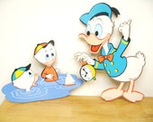 Vintage Disney Donald Duck Wall Hanging