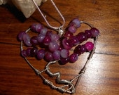 Love Tree of Life necklace hand made and wired