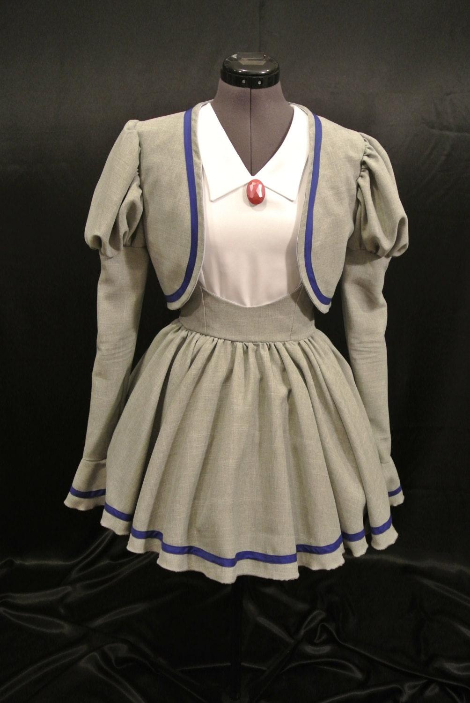 princess tutu school uniform cosplay used