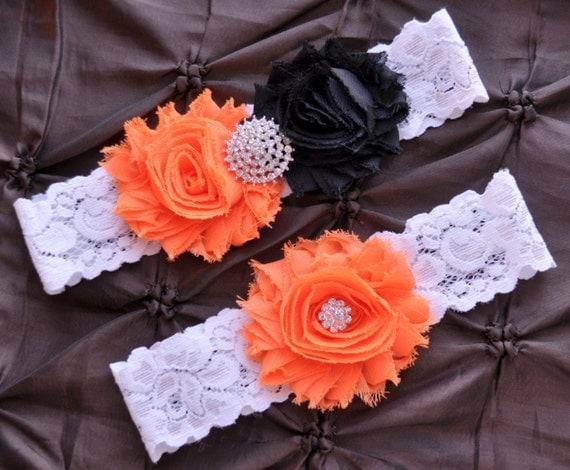 Wedding Garter Bridal Garter Set White Lace Garter