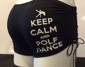 Size M - KEEP CALM Perfect Pole Shorts