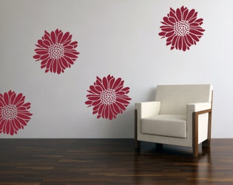 Flower Wall Decal - Flower Wall Sticker 0007