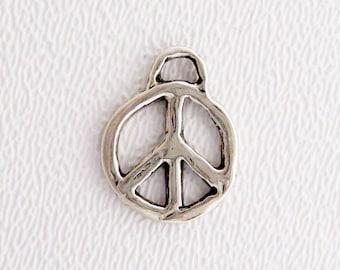 ONE Artisan Charm - Peace Sign