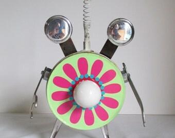 DAZE-E DUKES- Found object robot sculpture~assemblage