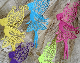 Tattered Lace Fairy Die Cuts Set of 8