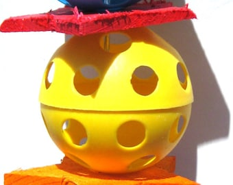 1117 Star Ball Bird Toy