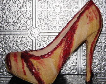 silent hill bloody nurse gauze wrapped wound heels