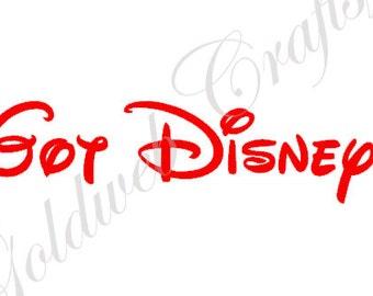 Got Disney? Inspired Vinyl Car Sticker