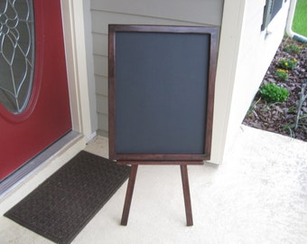 Large Chalkboard with Easel