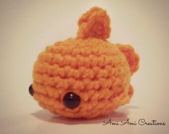 Amigurmi Goldfish -  Crochet Animal Plush
