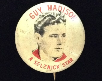 Vintage and Collectible GUY Madison 1940's Quaker Puffed W&R Cereal Pin (LD95)