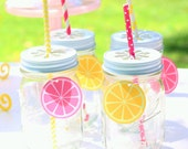 Lemon Drink Tag (12)-  Pink Lemonade Party