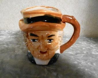 1920's Hand Painted Toby Mug
