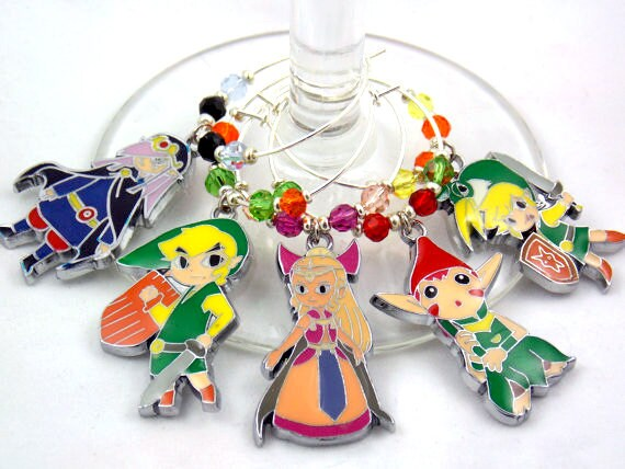 legend of the minish cap inspired swarovski by