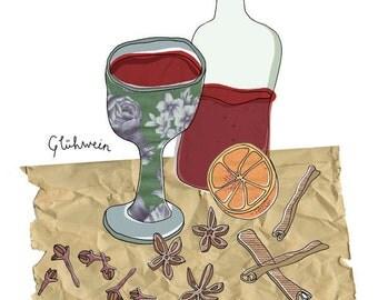 Print A4 - Glühwein