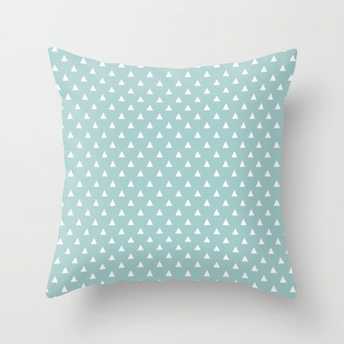 Decorative Pillows In Tiffany Blue : LIght blue decorative throw pillows tiffany blue pillow cover
