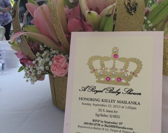 Chickie Invite Package: Royal Baby Shower Invitations