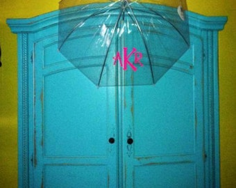 Monogram Clear Dome Umbrella