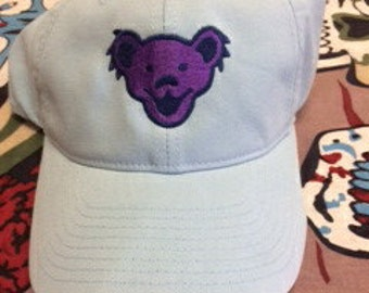Grateful Dead dancing bear fitted hat