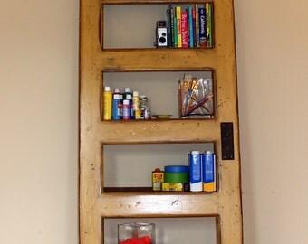 Harden Mustard Door Bookshelf