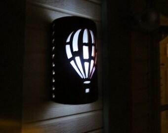 Hot Air Balloon, Wall Sconce, Exterior lighting, Porch Lights, Outdoor sconce, Albuquerque, Custom made, Patio Lights, Exterior lighting