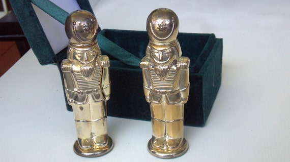 Vintage Silver Treasures By Godinger Nutcracker Salt And