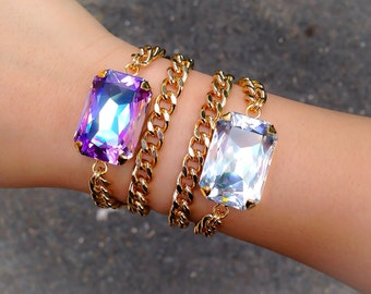 Double Wrap Swarovski Bracelet