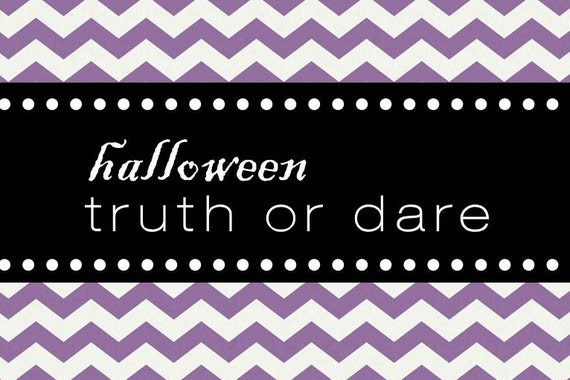 Truth Or Dare Questions Halloween