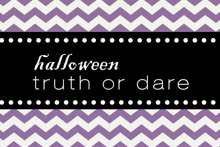 Halloween Truth Or Dare Game For Kids