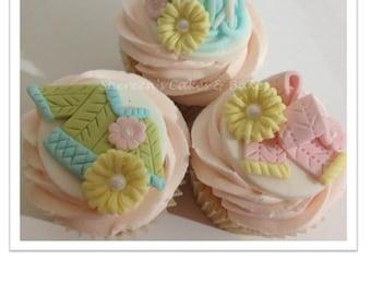 Knitting Cupcakes PDF Tutorial